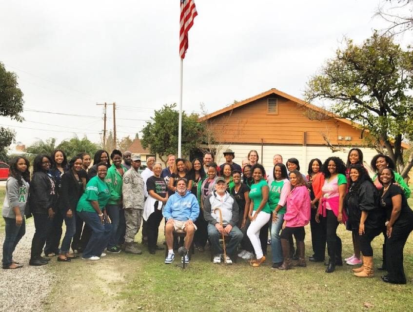2016 MLK Day of Service at OC Veteran's First