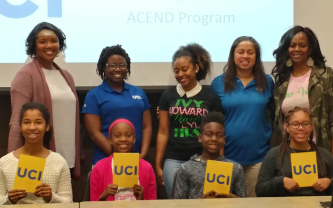 ASCEND Scholars Visit UCI and Learn Valuable Tools to Become College Ready
