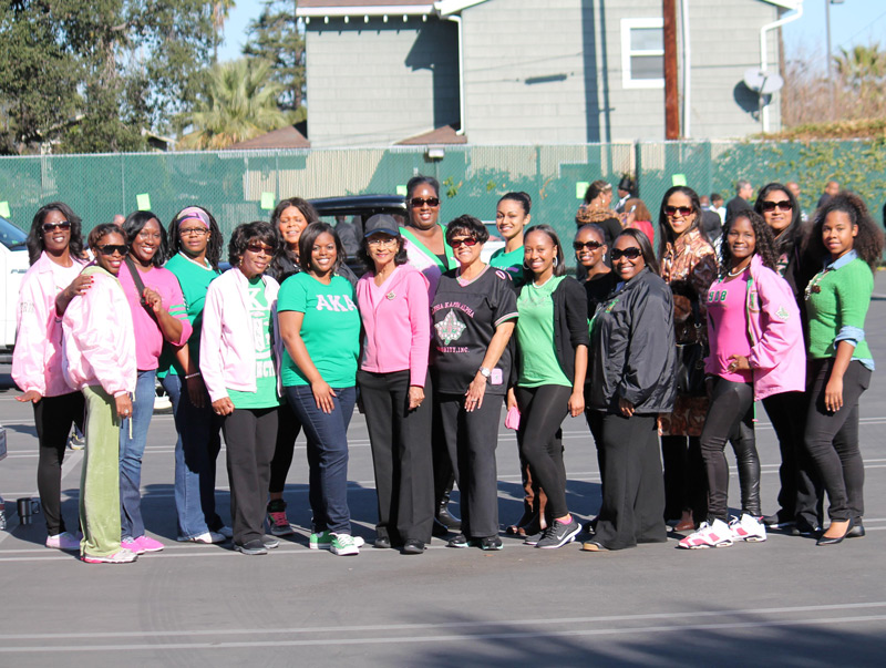 Alpha Kappa Alpha Sorority, Inc., Mu Epsilon Omega Chapter - Black History Parade