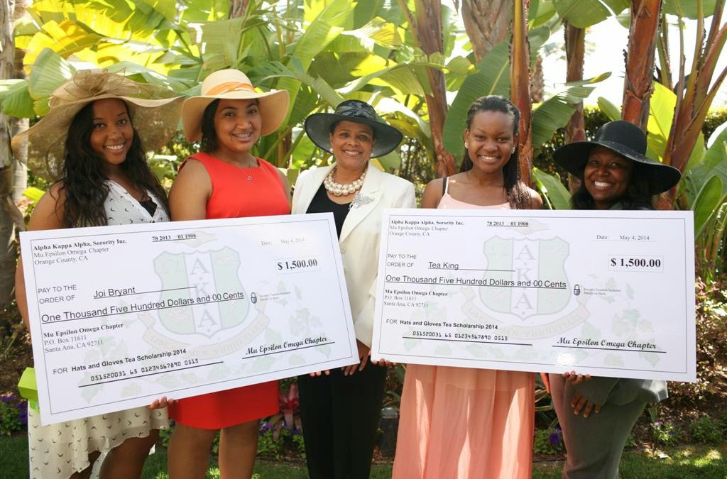 MEO Hosts 5th Annual Hats & Gloves Scholarship Tea